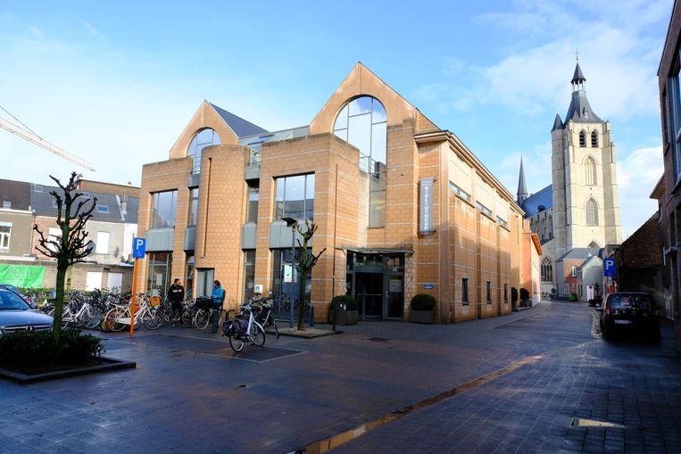 De voormalige bibliotheek van Mechelen.