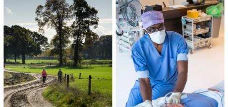 Gemist? Wandelen is helemaal hip in Twente en hulp voor regionale ziekenhuizen staat klaar
