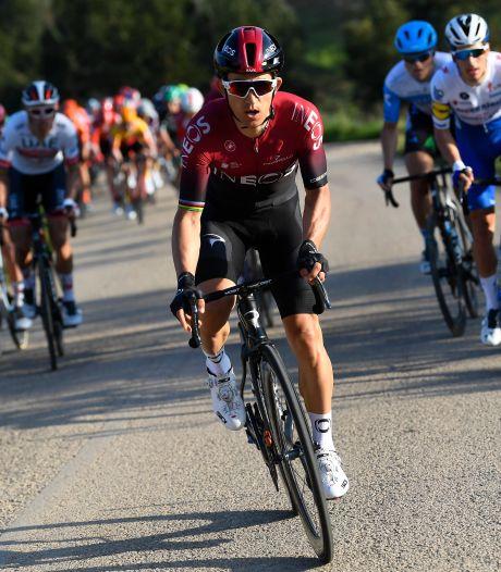 Michal Kwiatkowski, double vainqueur, leader d'Ineos sur les Strade Bianche