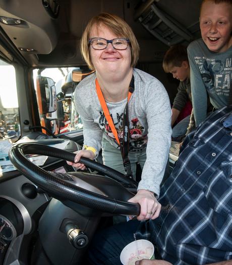 Onvergetelijke Truckrun voor Huissense Nicole
