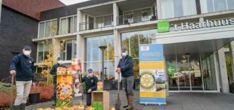Kleurrijk cadeau: tulpenbollen voor bewoners 't Haarhuus in Westerhaar