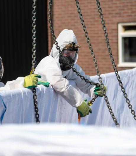 Verbod op asbestdaken van de baan