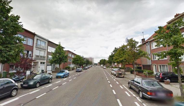 De granaat ging af in de Letterkundestraat in Wilrijk.