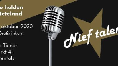 Door corona uitgestelde finale van muziekwedstrijd 'Nief Talent' vindt plaats op 9 oktober