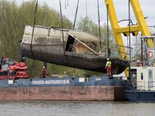 Berging gezonken schepen Marshaven in Zutphen dure operatie