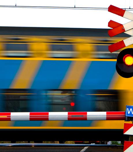 Extra controles bij spoorwegovergang in Bodegraven