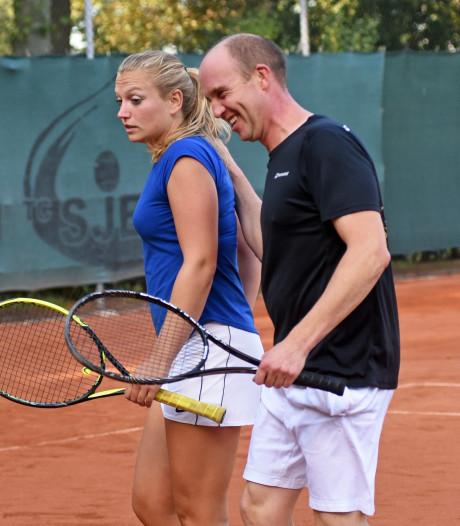 Effectief tennisspel van Van Strien en Scherbeijn in Aardenburg