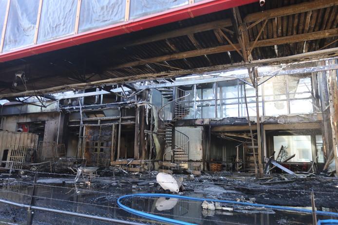 Ravage na brand in Den Bosch.