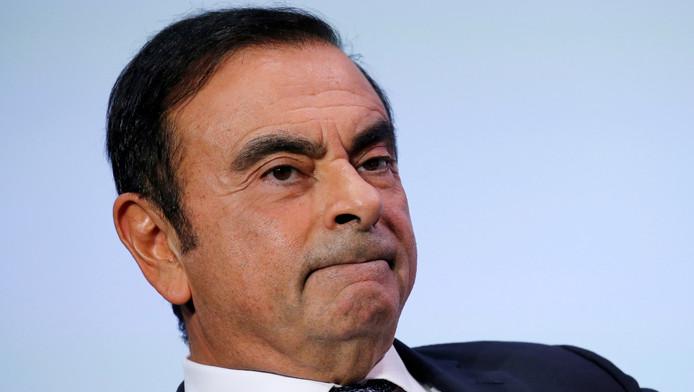 Carlos Ghosn, au Salon de l'Auto de Paris, le 1er octobre.