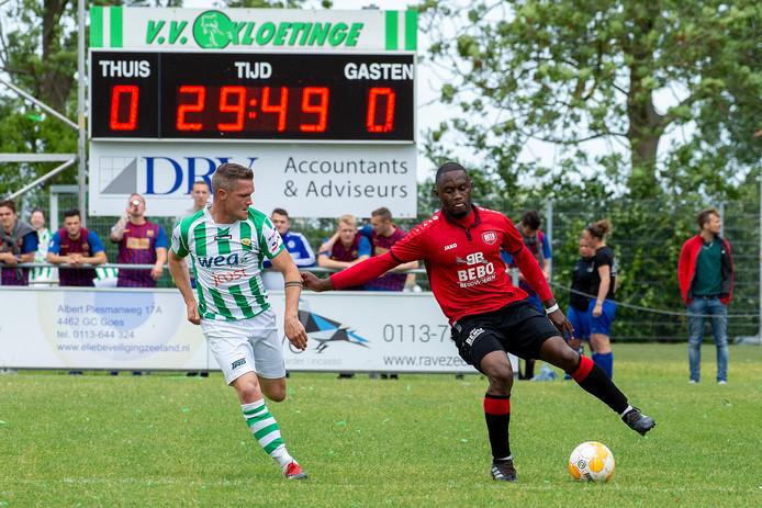 Coplan Soumaoro scoorde namens DETO