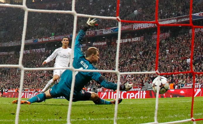 Cristiano Ronaldo: dodelijk in de zestien, zoals hier tegen Bayern München  in 2014.