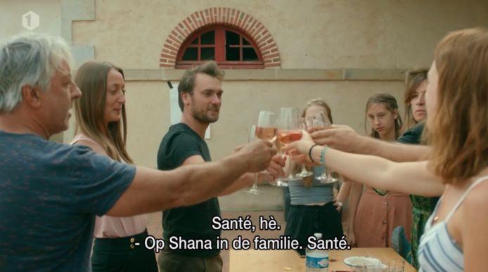 Shana in  'Chateau Planckaert'.