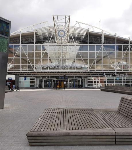 Leiden Centraal: foto's van een leeg station
