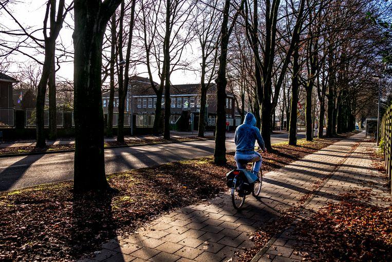 Een asielzoekerscentrum in de Limburgse gemeente Weert. Beeld null
