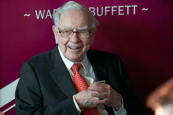 De Amerikaanse multimiljardair Warren Buffet heeft een vermogen van 82,9 miljard euro.