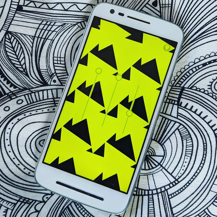 De app Yellow van Bonte Games