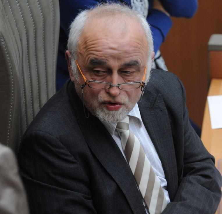 Parlementsvoorzitter Jan Peumans.