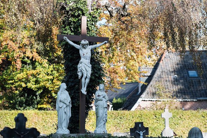 De begraafplaats in Gaanderen.