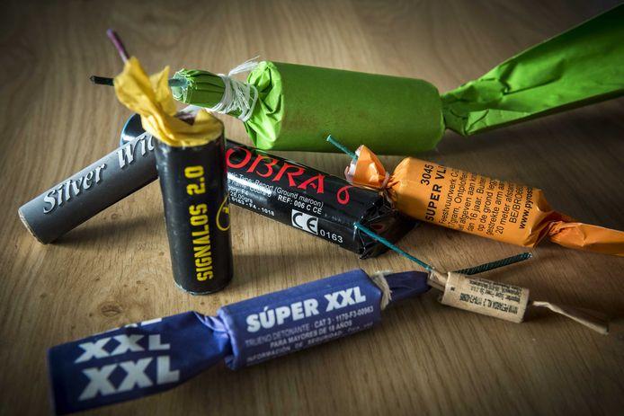 Illegaal, zeer zwaar, vuurwerk was de oorzaak van een enorme knal in Epe in de nacht van donderdag op vrijdag.