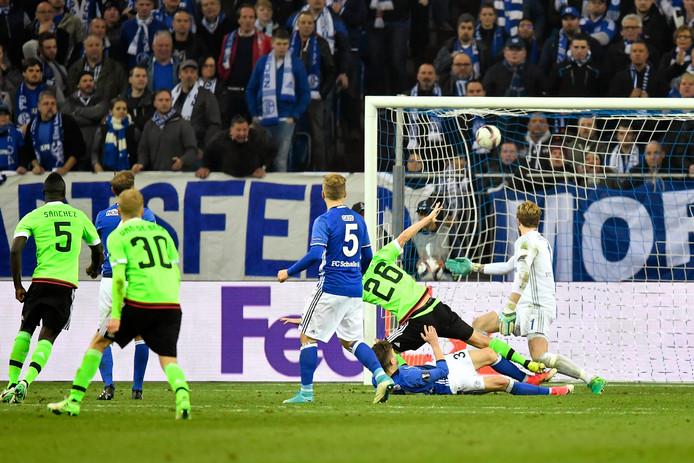 De cruciale goal van Nick Viergever.