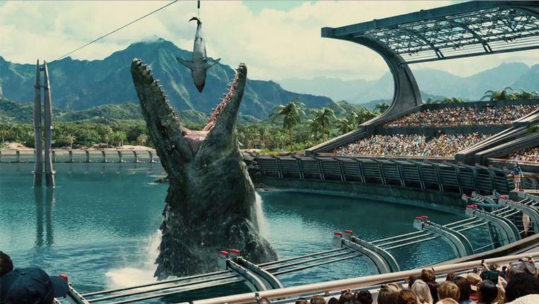 Beeld uit Jurassic World. Beeld