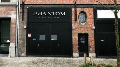 Nachtclub Phantom Antwerp al na half jaar 'uitgefeest'