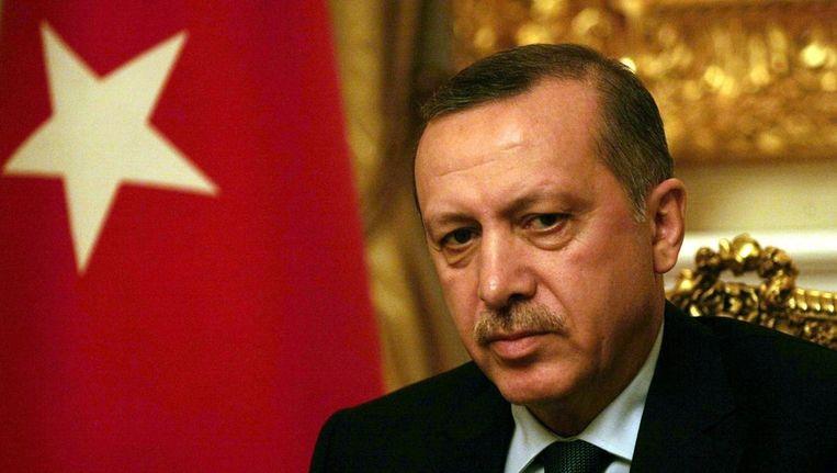 © Premier Erdogan. Beeld afp