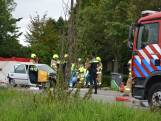 Automobiliste zwaargewond bij frontale botsing Doornenburg