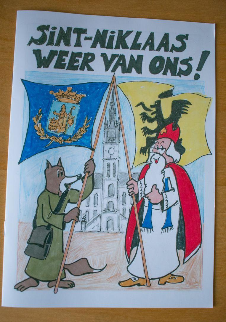 De strip wordt deze week in 37.000 exemplaren verdeeld in heel Sint-Niklaas.