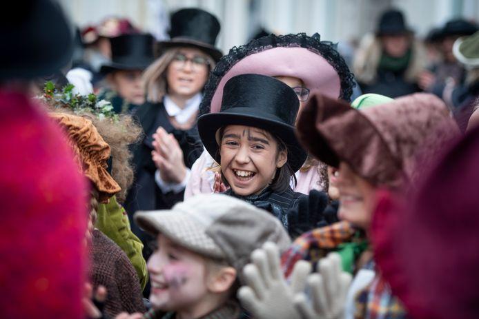 Het Dickens Festijn in Deventer afgelopen december.