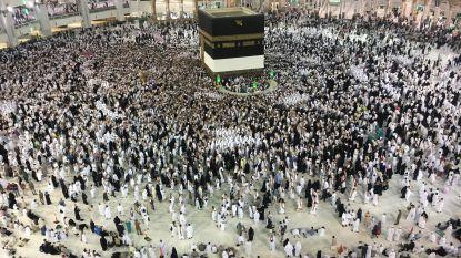 Meer dan 2 miljoen moslims starten hadj in Saoedi-Arabië