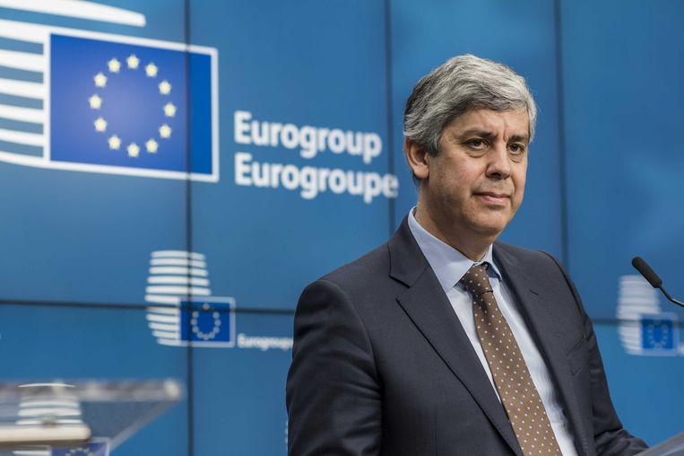 Mário Centeno blijft tot 12 juli voorzitter van Eurogroep