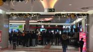 Opening KFC Wijnegem dan toch groot succes: overrompeling na kantooruren