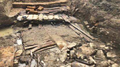 Resten Duitse betonmengplaats aangetroffen in De Palingbeek
