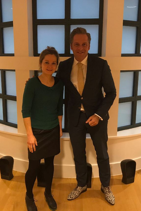 Succesvolle lobby bij nieuwe minister De Jonge