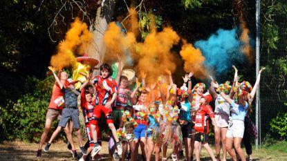 Rainbow Run en grootste vingerverfschilderij ter wereld op autovrije zondag