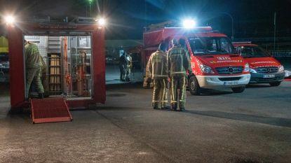 Incident met gevaarlijke stoffen in scène gezet: verschillende brandweerkorpsen bestrijden ramp