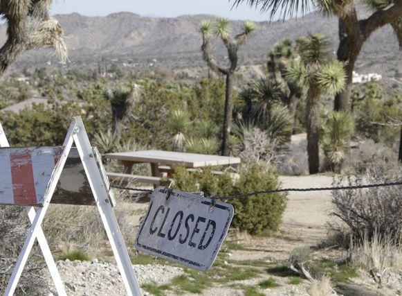 Na een shutdown die bijna drie weken aansleept, wordt het nationaal park dan toch gesloten.