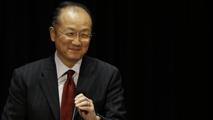 Wereldbankpresident Jim Yong Kim.