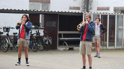 Duffelse Chiro en De Kunstfabriek spelen muziek voor inwoners Sint-Elisabeth