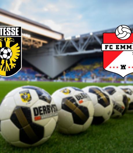LIVE   Vitesse en Emmen openen de eredivisiezondag
