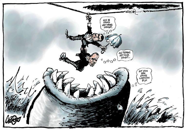 De cartoon van Jos Collignon van vandaag. Beeld Jos Collignon