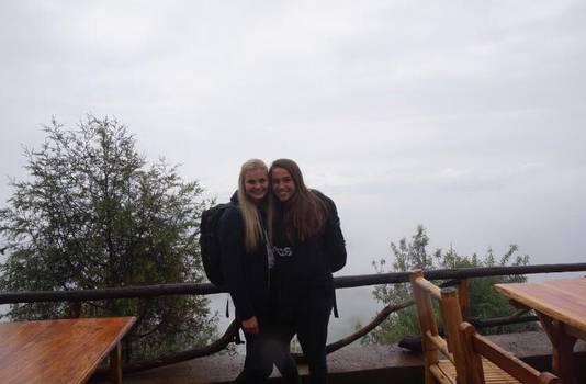 Sophie Oude Rengerink (links) en Kirsten de Zeeuw