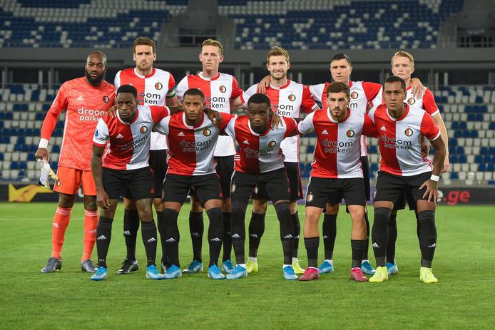 Teamfoto van Feyenoord.