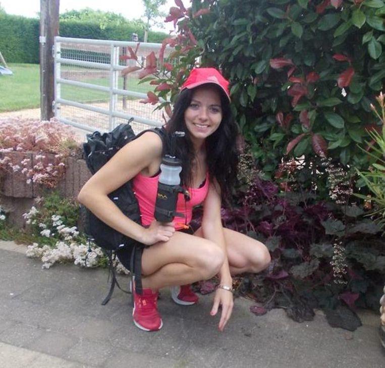 Ultraloopster Sarah Wagemans zoekt sponsoring voor The Track Australië.