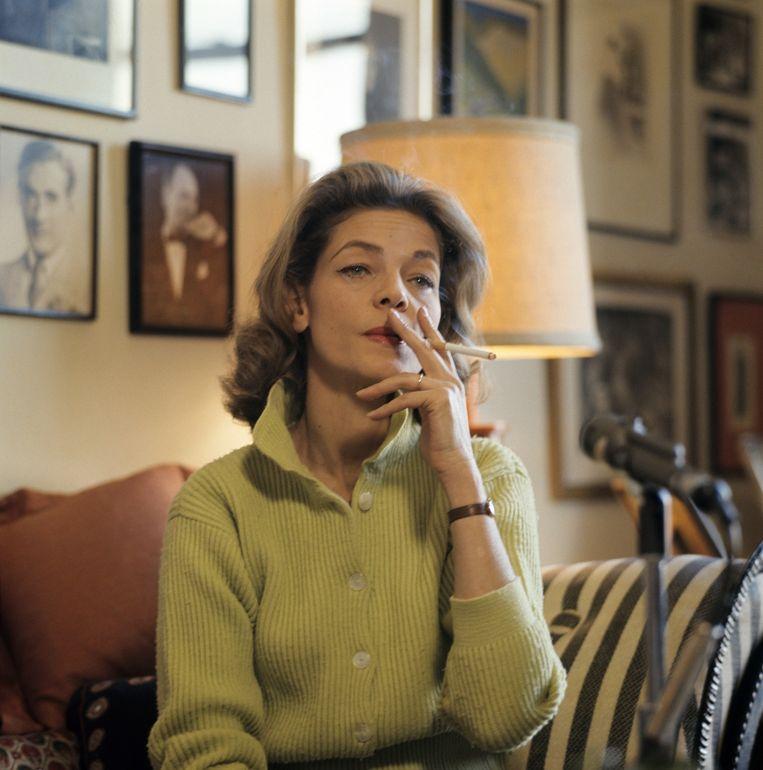 Jaren '70, met onafscheidelijke sigaret. Beeld getty