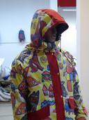 Sheltersuit, met printontwerp van Bas Kosters