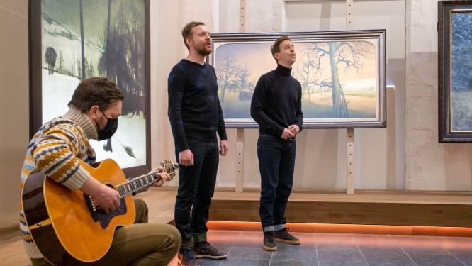 """Cleymans en Van Geel zingen 'We zullen doorgaan' voor jarig Het KUNSTUUR: """"Succes in andere steden herhalen"""""""