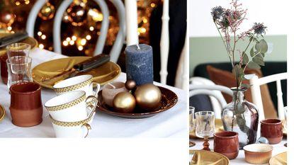 Dek én pimp je kersttafel voor minder dan 20 euro dankzij slimme tips van interieurstyliste Clo Clo