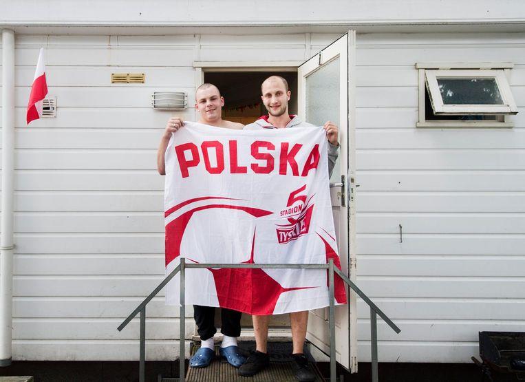 Poolse migranten in Oss. Nu telt Nederland 3,9 miljoen mensen met een westerse-en niet-westerse achtergrond. Beeld ANP